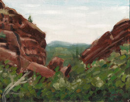 View at Red Rocks