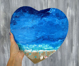 Epuisé  Coeur océan