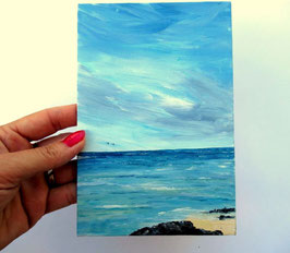 Non disponible  Plage 18x12cm