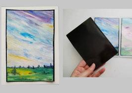 Magnet carte aimantée 16x11cm
