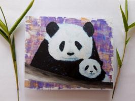 Impression carte Panda 15.5x13cm