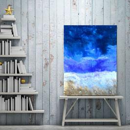 Abstract ocean 80x60cm
