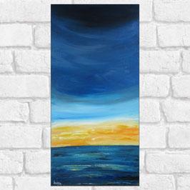 "Tableau paysage marin ""Altis II"" 30x60 cm"