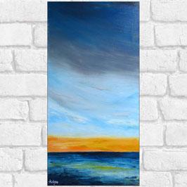 "Tableau paysage marin ""Altis""  30x60 cm"