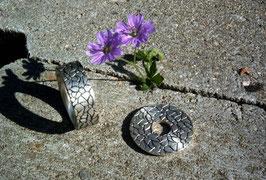 Florale Scheibe