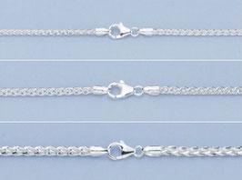 Zopfkette 925 Silber