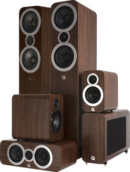 Q Acoustics 5.1 Homecinema Set 3050i