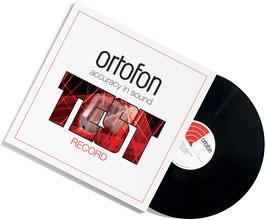 Ortofon Testplatte für Tonabnehmer Check LP