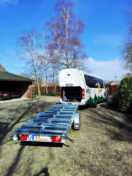 2020.08.19 Bus&Bike Geiseltalsee und Arche Nebra