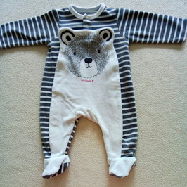 Pyjama velours Sucre d'orge 3 mois