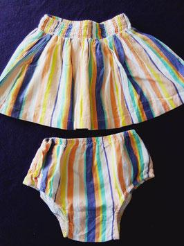 jupe et culotte assorties 18 mois