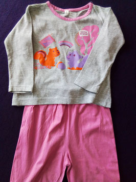Pyjama 2 pièces 24 mois
