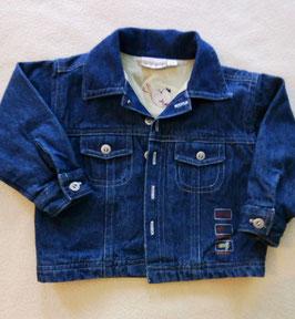 Veste en jean doublée 6 mois