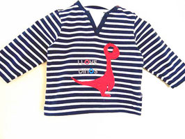 T-shirt style marinière Obaïbi 12 mois