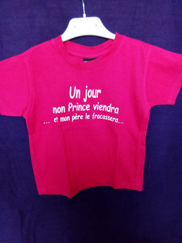 T-shirt  fille 3/4 ans