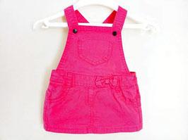 Salopette-robe rose fuschia 3 mois