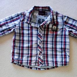 chemise à carreaux doublée 3 mois