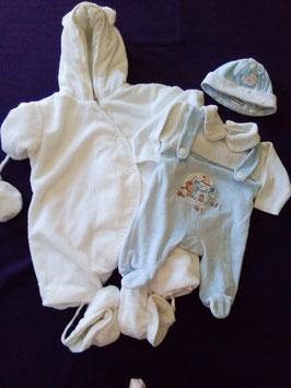 Ensemble naissance bébé garçon