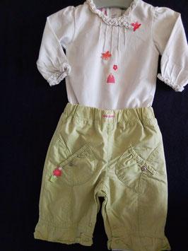 Pantalon et body 3 mois