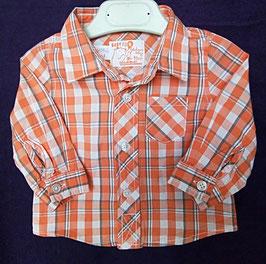 Chemise à carreaux 9 mois