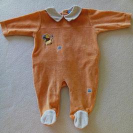 Pyjama velours Winnie l'ourson 3 mois