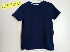 T-shirt marine 10 ans