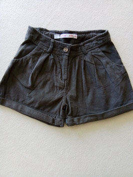 Short en velours 8 ans