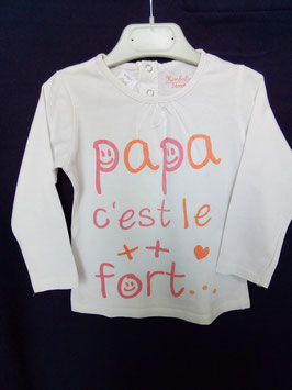 T-shirt papa....2 ans