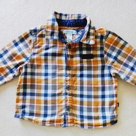 Chemise à carreaux 6 mois Obaïbi