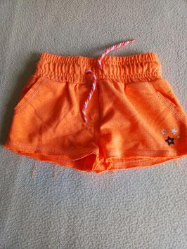 Mini-short orange fluo 3 ans