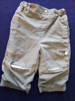 Pantalon toile marron 18 mois