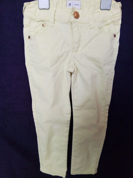 Pantalon slim toile 4 ans