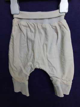 pantalon sarouel en toile 1 mois