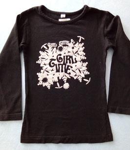 T-shirt motif pailleté argenté 4 ans