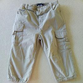 Pantalon en toile doublé 2ans