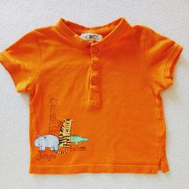 T-shirt orange 6mois