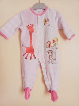 Pyjama en velours kiabi 9 mois