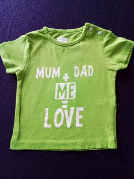 T-shirt bébé 1 mois