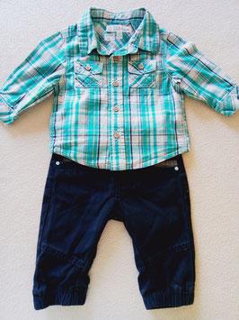 Pantalon+chemise 3 mois