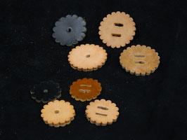 Rosettes de cuir
