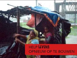 Help slachtoffers van de cycloon