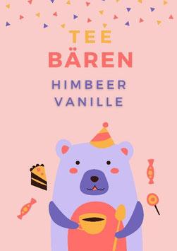 Tee-Bären Himbeer/Vanille 100gr.