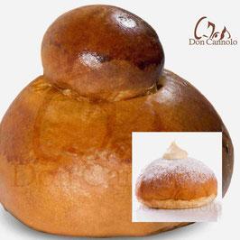 26 Brioche col tuppo (2 kg) + 20 Brioche con crema Pistacchio e Mandorla (2 kg)