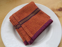 Mungo Boma Serviette Orange Rust