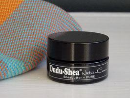 """Dudu-Shea Natur-Creme """"Pure""""Sheabutter 15 ml im Glastiegel"""