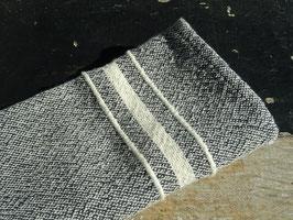 Barrydale Hand Weavers Serviette Charcoal Contemporary Range