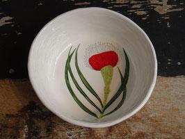 Gemma Orkin Large Bowl Keramik Schüssel Flower 1 Pincushion Protea