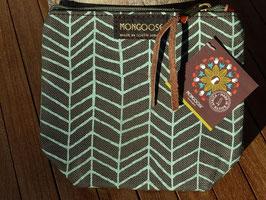 "Mongoose Purse Bag ""Fishbone Mint/Charcoal"""