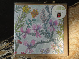 "Growing Paper Grußkarte ""Fynbos floral"" Pudding & Pickles"