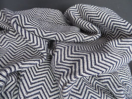 Mungo Bakuba Throw King Size Midnight
